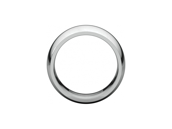 Ladies Wedding Bands - 10mm Wedding Band - image 2