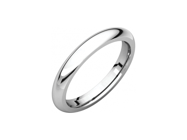 Men's Wedding Bands - 3mm Wedding Band