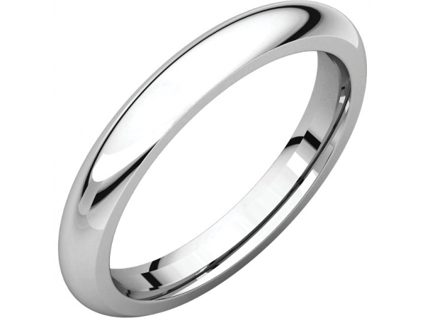 Mens Wedding Bands - 3mm Wedding Band
