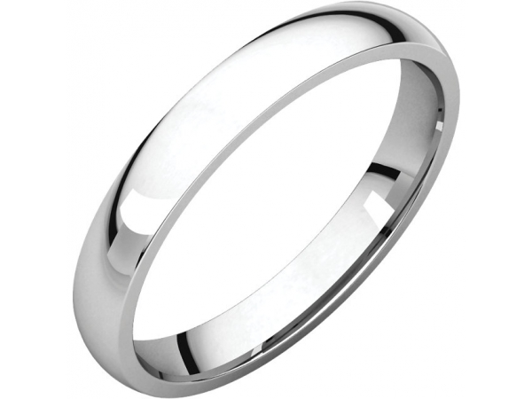 Wedding Bands - 3mm Wedding Band
