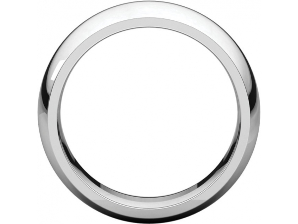 Wedding Bands - Half Round Comfort Fit Bands - image 2