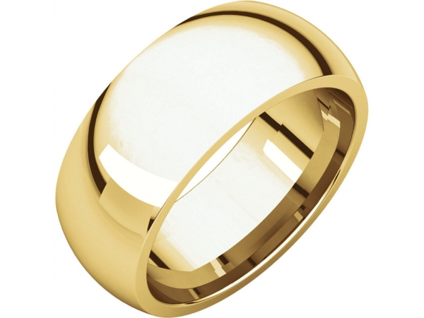 Ladies Wedding Bands - 8mm Wedding Band