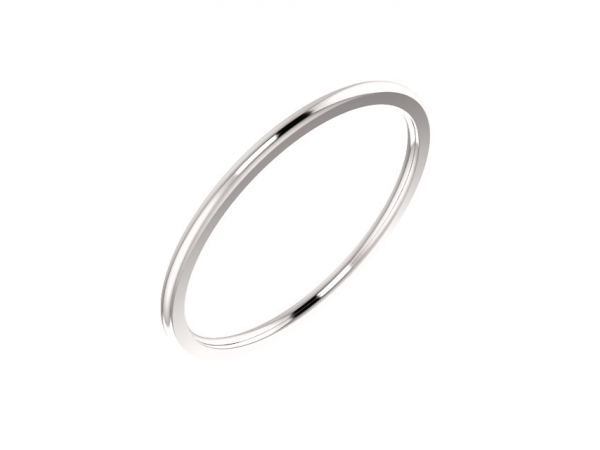 Rings - Half Round Comfort Fit Bands