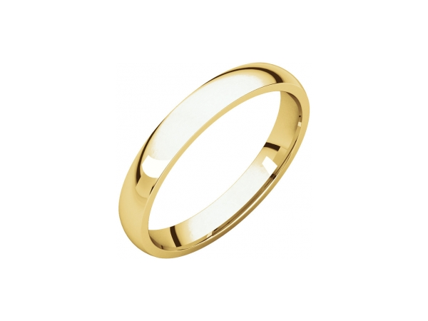 3mm Wedding Band by Stuller
