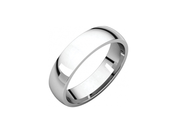 Ladies Wedding Bands - 5mm Wedding Band