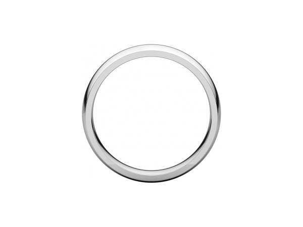 Ladies Wedding Bands - 5mm Wedding Band - image 2