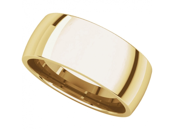 Wedding & Anniversary Bands - Light Comfort-Fit Bands