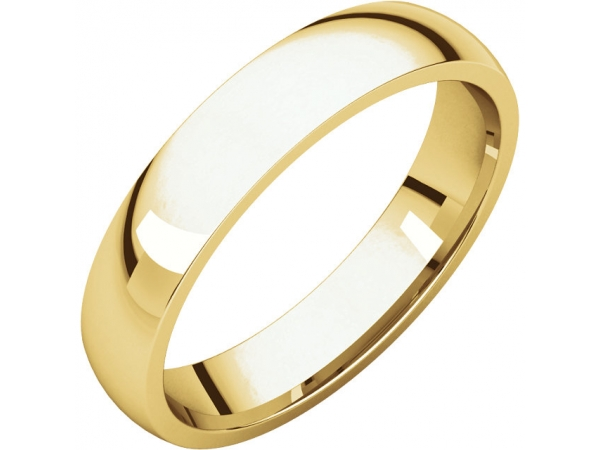 Wedding Rings - 4mm Wedding Band