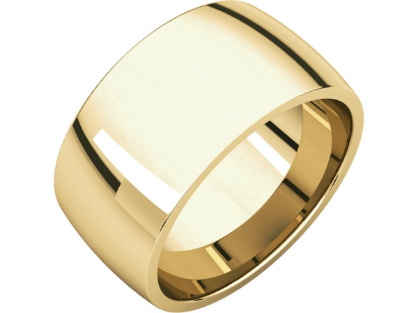 Wedding Bands - Light Comfort-Fit Bands