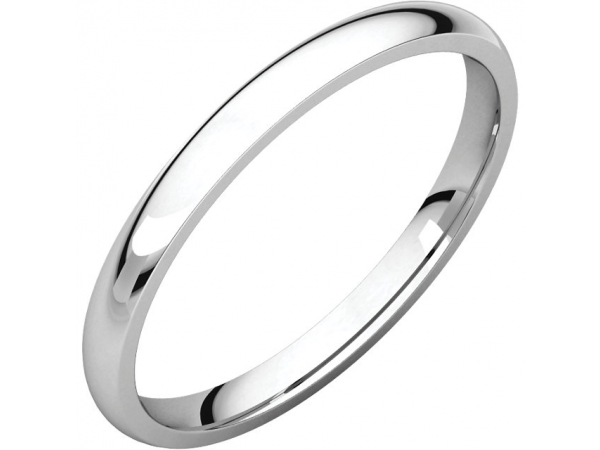 Engagement Rings - Light Comfort-Fit Bands