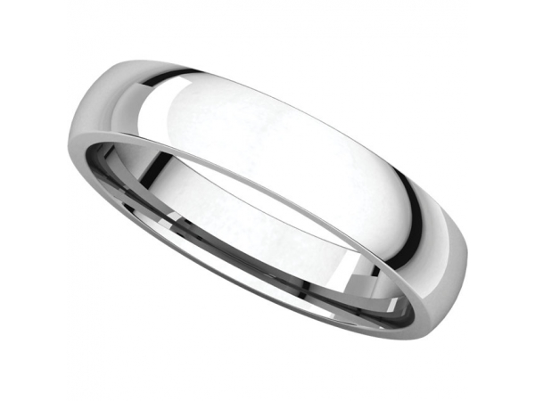 Rings - Half Round Comfort Fit Light Bands