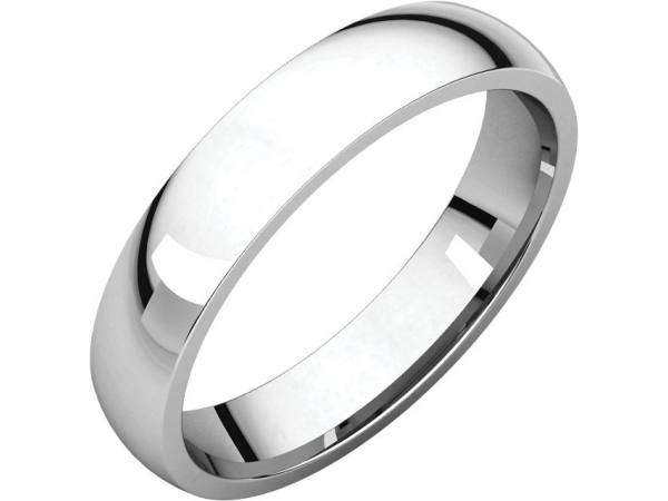 Wedding Rings - 4mm Wedding Band - image #2