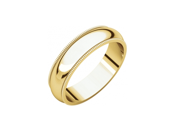 5mm Wedding Band by Stuller