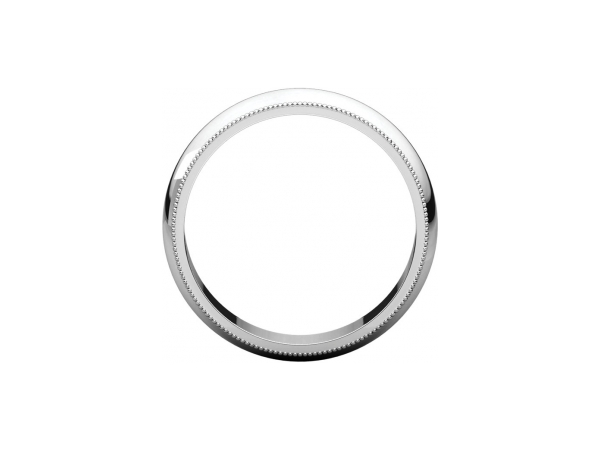 Men's Wedding Bands - 5mm Wedding Band - image 2