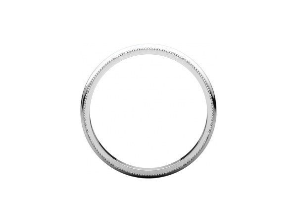 Wedding Rings - 2.5mm Wedding Band - image #2