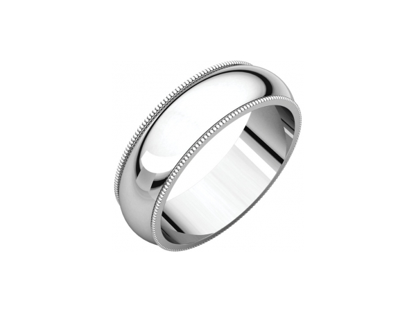 6mm Wedding Band by Stuller