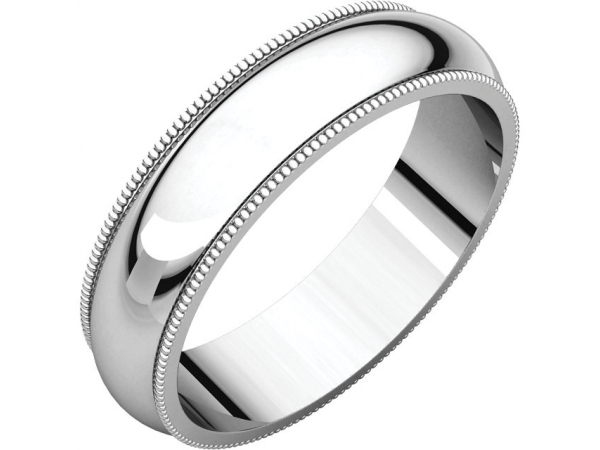 Wedding Rings - 5mm Wedding Band