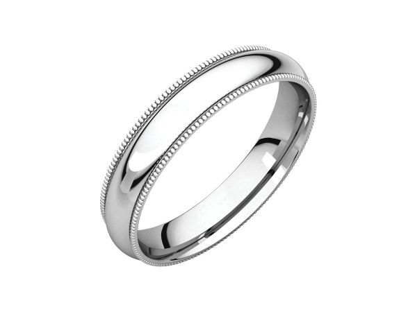 Wedding & Anniversary Bands - 4mm Wedding Band