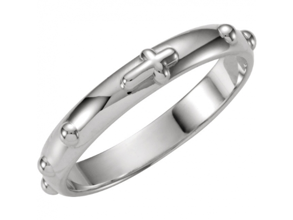 Anniversary Bands - Rosary Ring