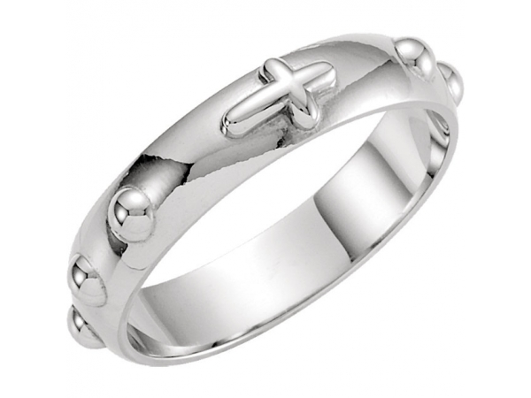 Rosary Ring by Stuller