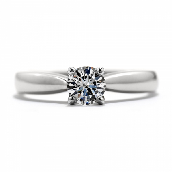 Hearts On Fire Serenity - 18kw .303ct Serenity Select Complete Solitaire by Hearts On Fire, HOF141909=.303ct K VS1/SI2
