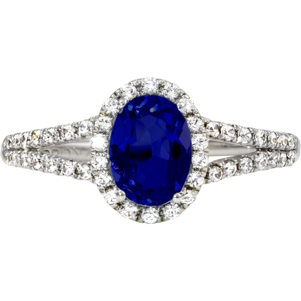 Rings - Sapphire and Diamond - image #2