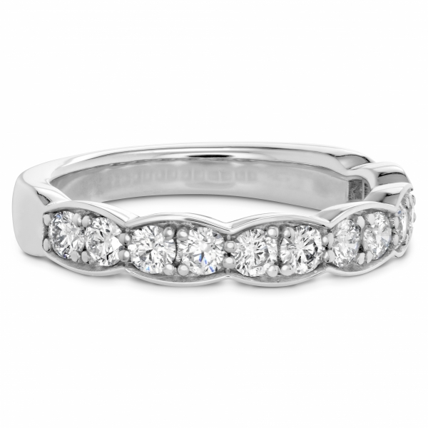 Hearts On Fire Lorelei Floral - 18kw Lorelei Floral Diamond wedding band by Hearts On Fire, .21cttw, sensational