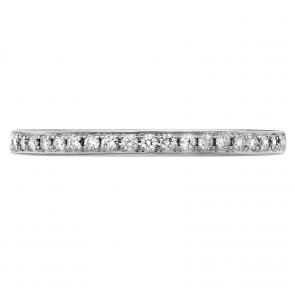 Hearts On Fire - 18kw Hearts On Fire Signature diamond band, .13ct tw sensational quality