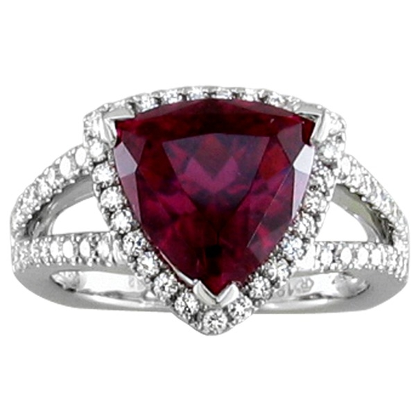 Rings - Rubelite and Diamond
