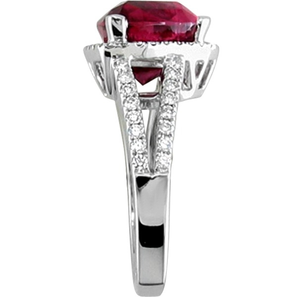 Rings - Rubelite and Diamond - image #2