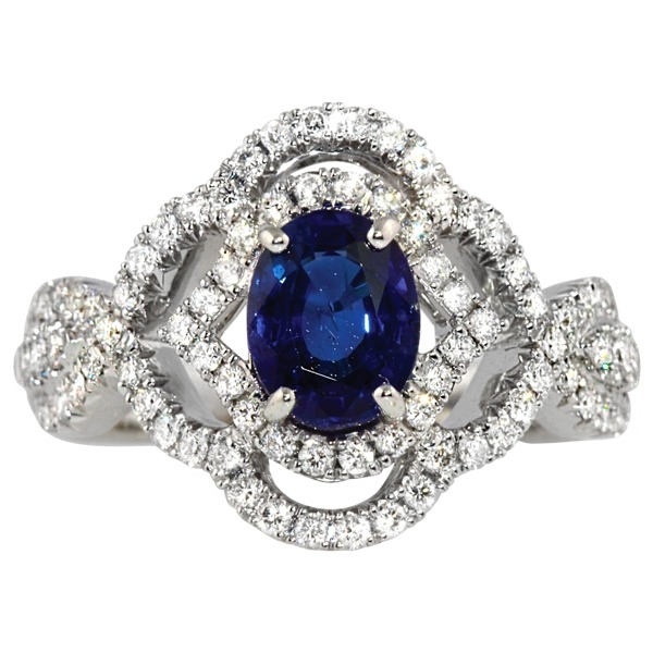 Rings - Sapphire and Diamond
