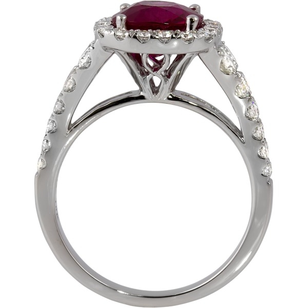 Rings - Ruby and Diamond Ring - image #3