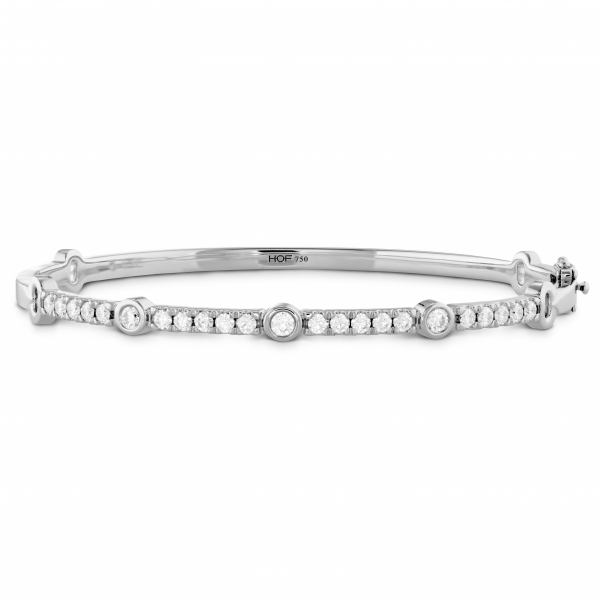 Hearts On Fire Copley Bangle - 18kw Copley Diamond Bangle by Hearts On Fire, 1.16cttw GH VS/SI