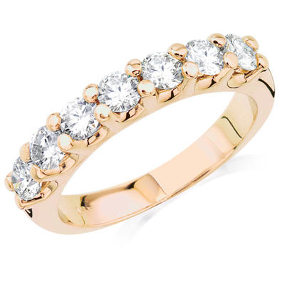 1ct Anniversary Ring - 14k yellow gold 1ct total weight diamond Anniversary Ring.