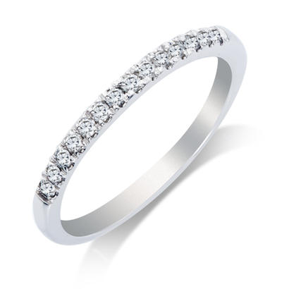 1/5ct tw Anniversary Band - 14k 1/5ct total weight diamond anniversary ring.  This ring is available in 14k white, yellow and rose gold.