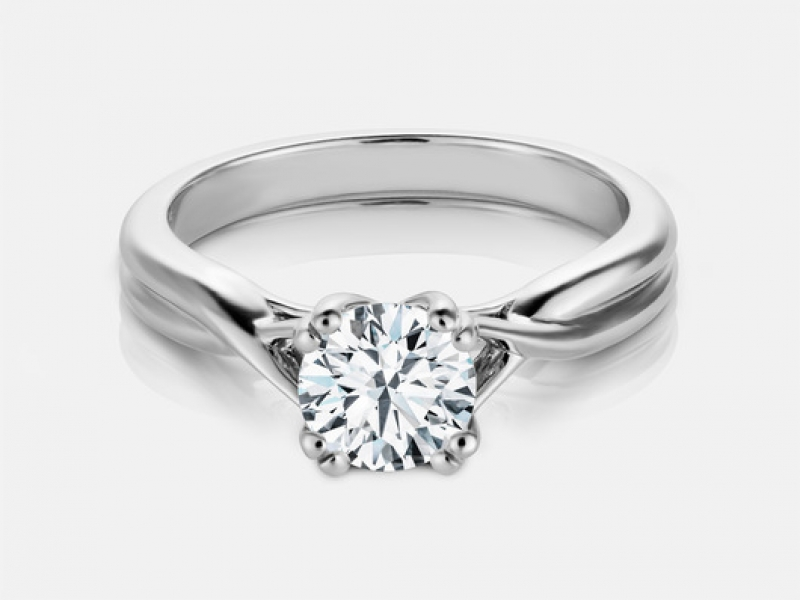 .40ct tw Engagement Ring - 14kw Madison .40ct engagement ring, G VS2, GIA11371372694.71x4.74x2.95