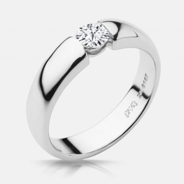 Diamond Engagement Rings - 48ct tw Engagement Ring - image #2