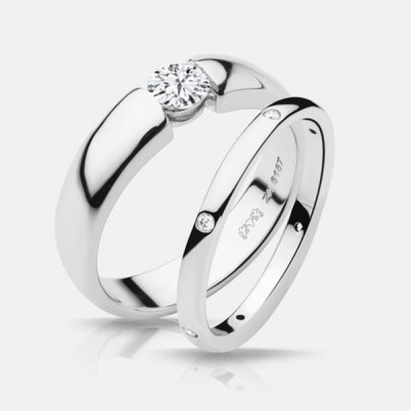 Diamond Engagement Rings - 48ct tw Engagement Ring - image #3