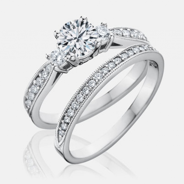Diamond Engagement Rings - .72ct tw Engagement Ring - image #2