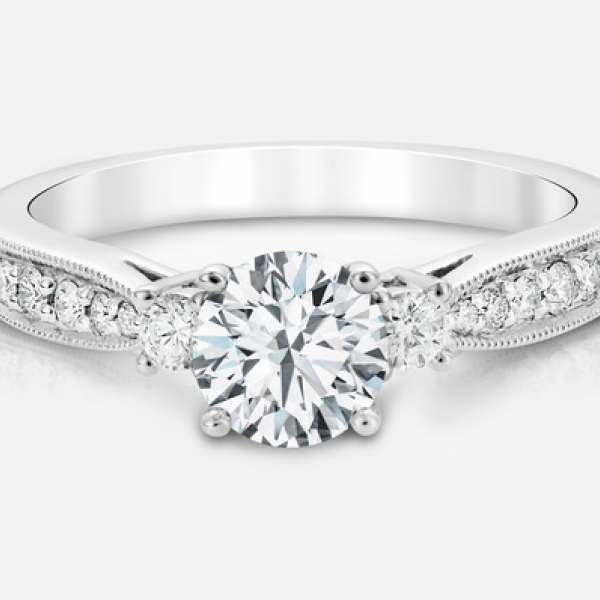 Diamond Engagement Rings - .72ct tw Engagement Ring