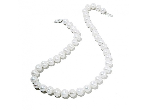 Pearl Strand - Lady's 6-6.5Mm Sterling Silver Fresh Water Pearl Bracelet Length: 18