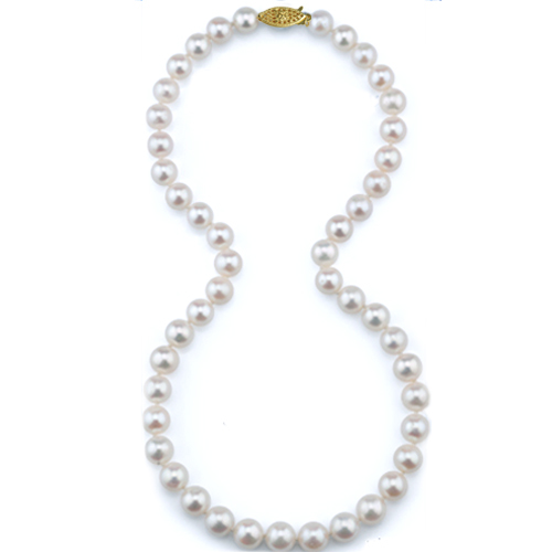 Pearl Strand - Lady's 6-6.5 MM 14 Kt Single Freshwater Pearl Strand Length: 18