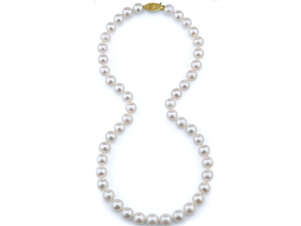 Pearl Strand - Lady's 6.0-6.5Mm 14 Kt Fresh Water Pearl Strand Length: 20