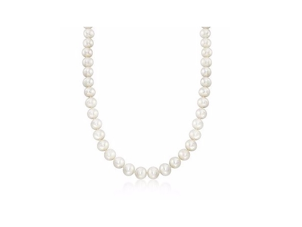 Pearl Strand - Lady's 11 - 12 Mm 14 Kt Fresh Water Pearl Strand Length: 18