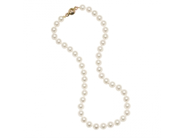 Pearl Strand - Lady's 6.0-6.5 Mm 14 Kt Single Akoya Pearl Strand