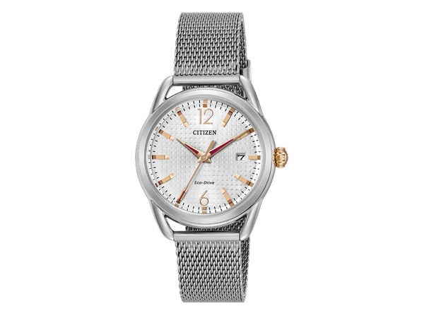Citizen Eco-Drive Watch - Lady's Stainless Steel Dress Citizen Eco-Drive Watch