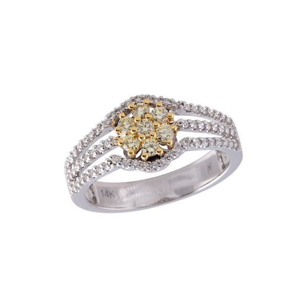 14KT Gold Ladies Diamond Ring Sanders Diamond Jewelers Pasadena, MD