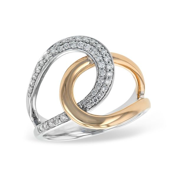 14KT Gold Ladies Diamond Ring by Allison Kaufman
