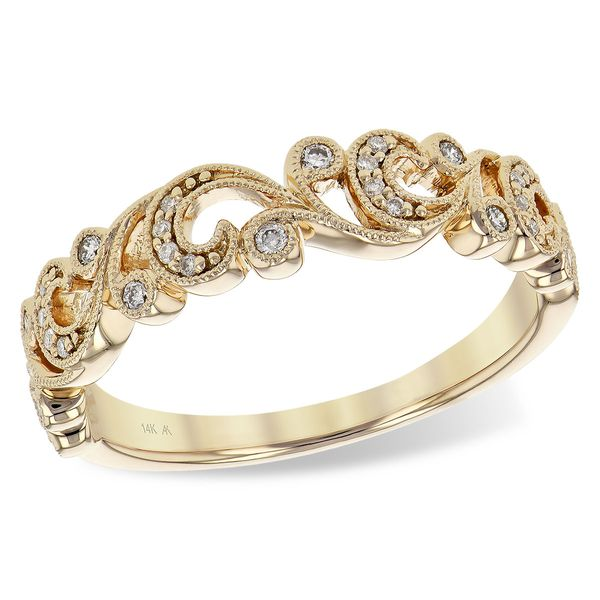 14KT Gold Ladies Wedding Ring Sanders Diamond Jewelers Pasadena, MD