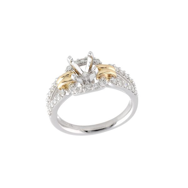 14KT Gold Semi-Mount Engagement Ring The Stone Jewelers Boone, NC